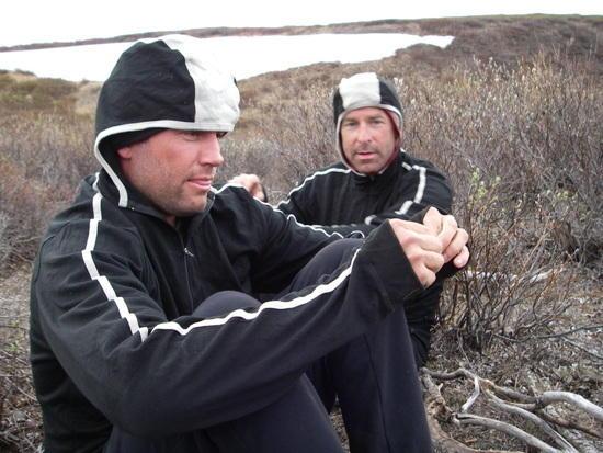 Roman Dial and Jason Geck in Arctic Alaska - Smartwool Shadow Hoody (photo: Ryan Jordan)
