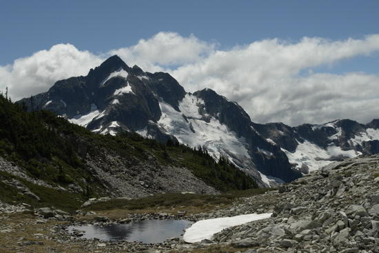 Whatcom Peak + Tarn