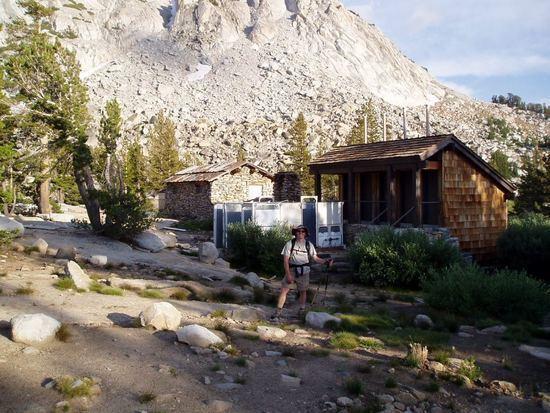Dismantled Vogelsang tent/cabins