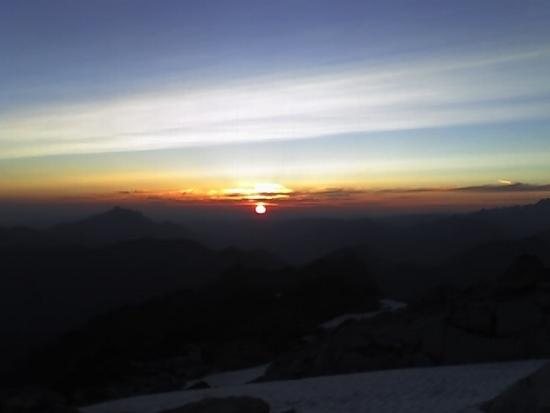 Sunset with Mt Pilchuck on the left.