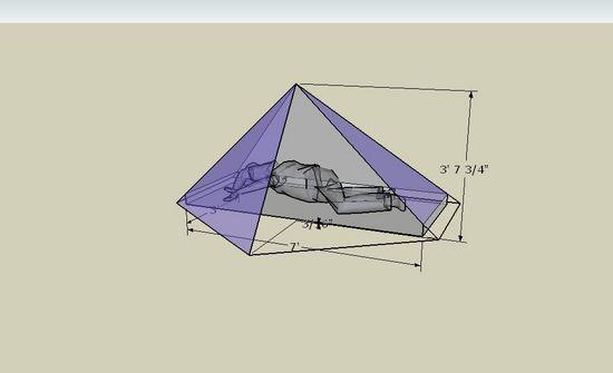 half pyramid