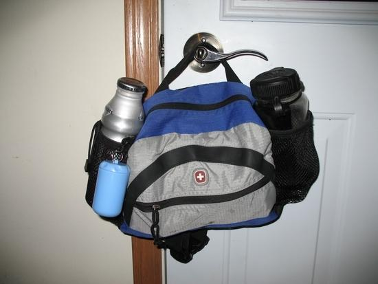 Pretty balanced pack: I'm using this combo more often now than the hydration pack