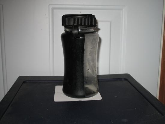 Solar water heater bottle