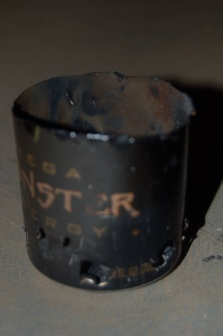 Monster can fire starter