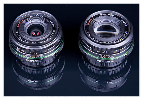 The 21mm and 70mm Limiteds: