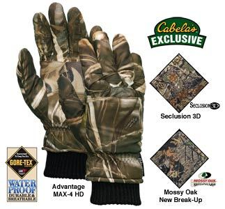 Cabelas goretex gloves