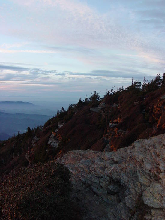View from Mt. LeConte at Sunset (Cliff Top)