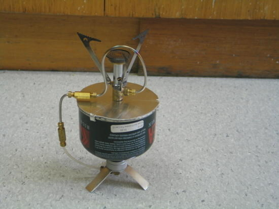 Idea prototype cold weather stove