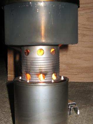 wood stove post boil