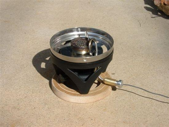 JetBoils stove 1