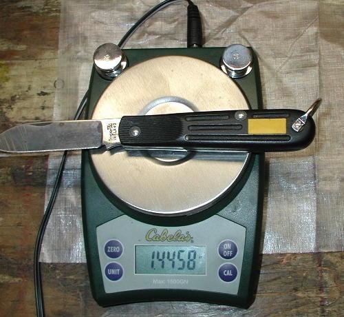 Unltralite Knife Backpacking Light