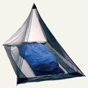Single peaked bug shelter