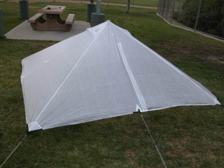 Shelter in raised mode