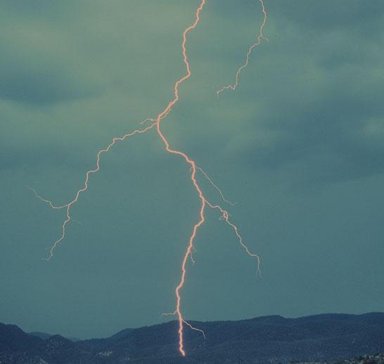 Lightning truly frightening