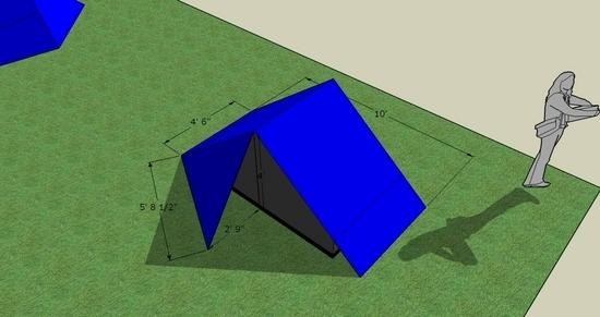 Here is a Lunar Duo clone (without the curved roof estimate ~35oz) & Tarptent design (Lunar Duo clone) - Backpacking Light
