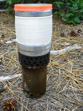 wood stove - riser pot stand - Heiny cook pot
