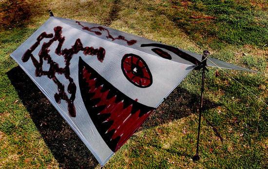 carnivore deterrent tarp