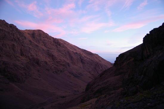 Sunrise in the High Atlas