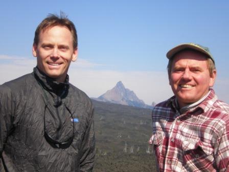 Tom & Rich with Mt Washington