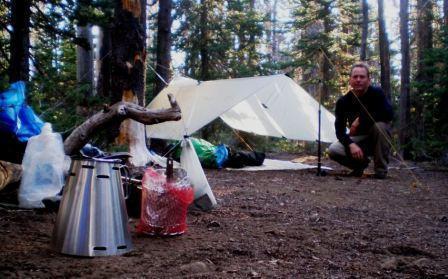 Campsite at Soap Creek
