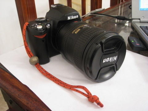 Simple strap for D40