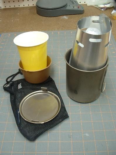 stove and fuel bottle still in ths cup