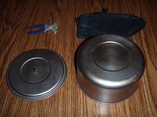 MSR 2L Titanium pot