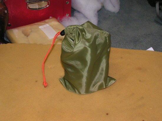 Bag and Stove