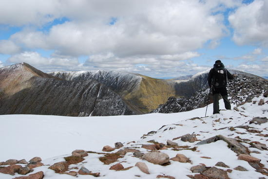 On the Carn Mor Dearg arete