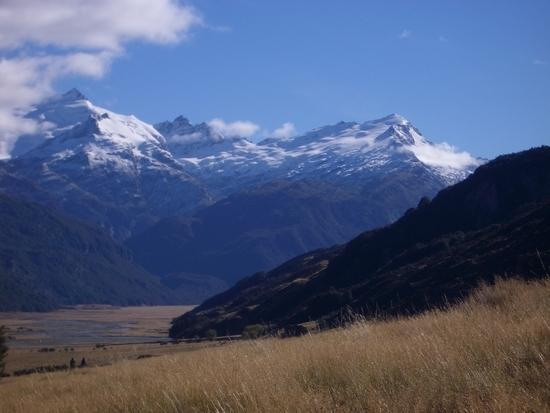 back towards walter peak