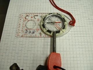 compass + firesteel