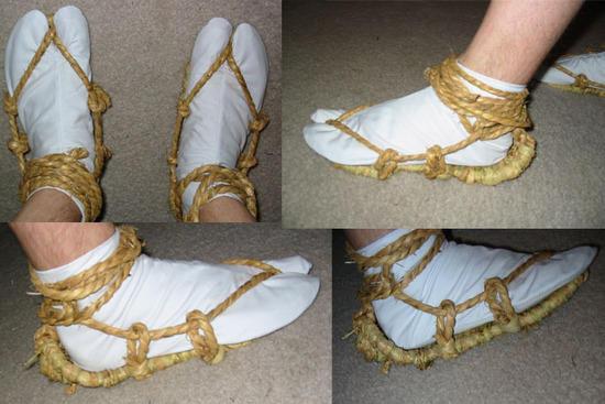 """Waraji"" saranobori sandals"