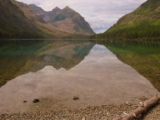 Glacier National Park, Upper Kintla Lake