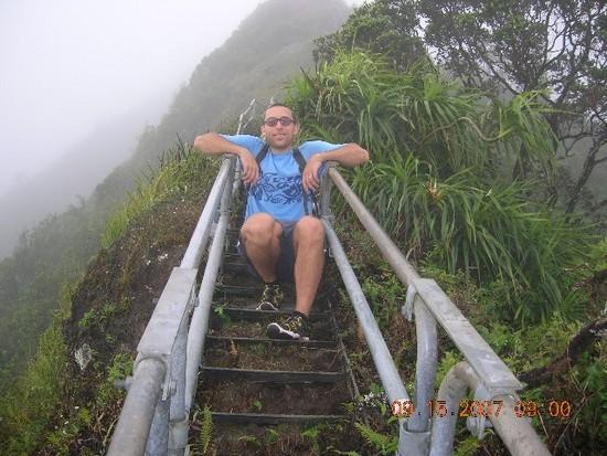 CLB on Haiku Stairs