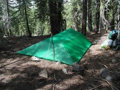 Outward Bound Instructor Tarp Setup