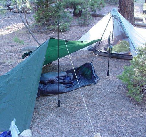 tarp and tarptent
