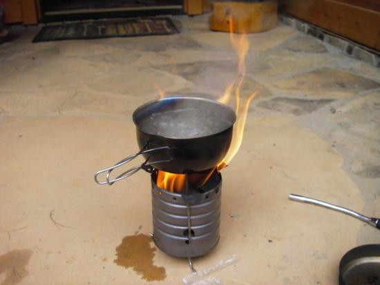 Penny wood stove