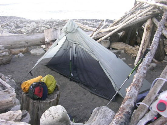 Gatewood cape and serenity bug tent.(six moon designs rock)