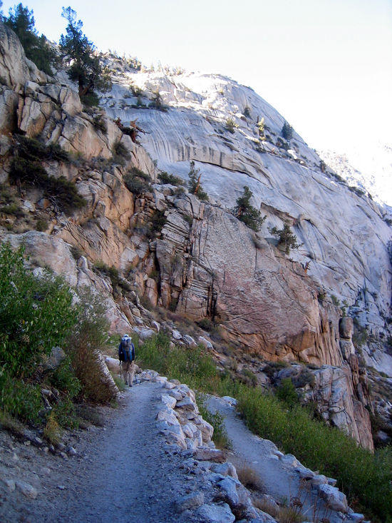 Switchbacks to Whitney Portal