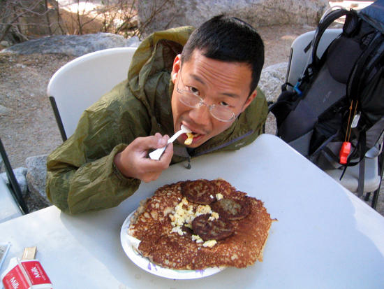 Whitney Portal Pancake Breakfast