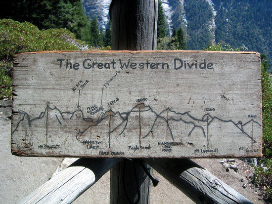 The Great Western Divide