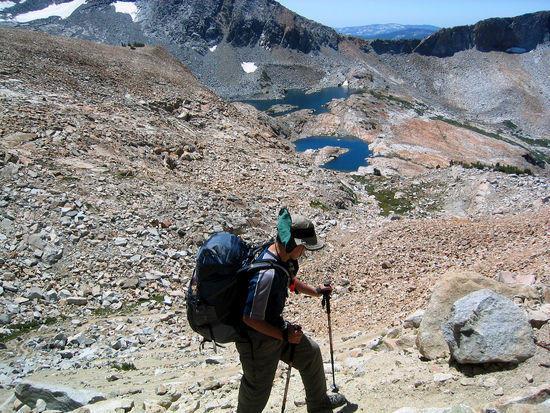Switch Backs of Red Peak Pass
