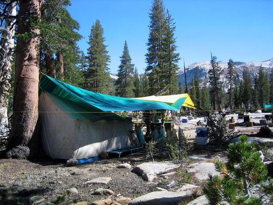Trail Crew Campsite