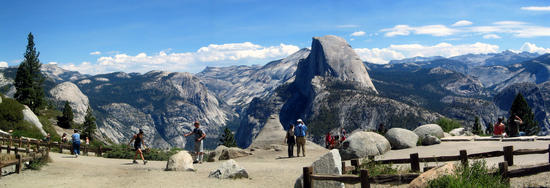 Full Circle's End at Glacier Point