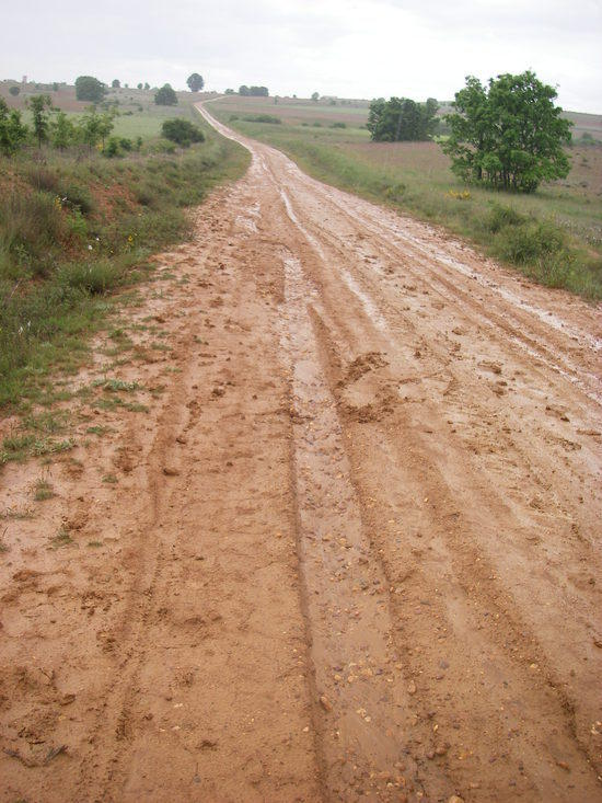 first day of rain along the plains