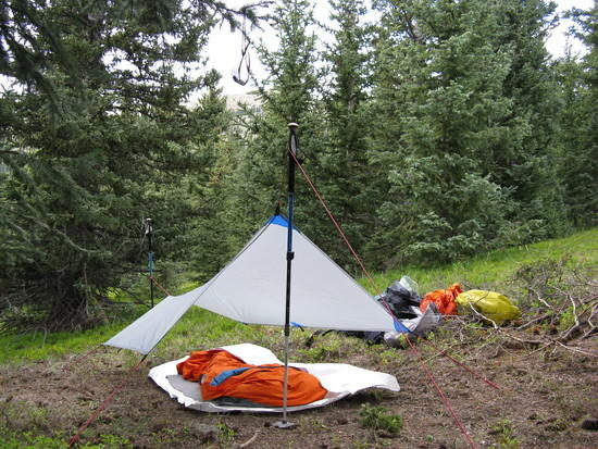 Bivy Site at Puerte Nambe Meadows