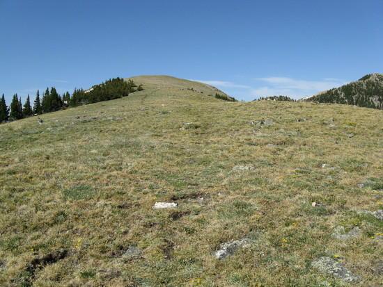 Onto Lake Peak