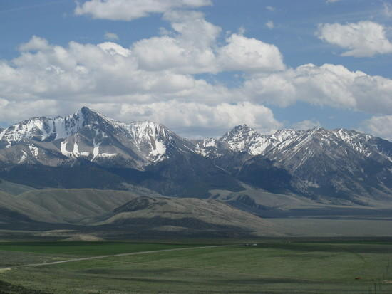 View of Lost River Range