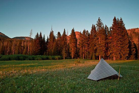 Cabin Creek, Yellowstone National Park, Thorofare Trail.