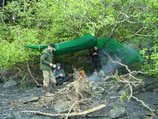 Ursacks and tarps